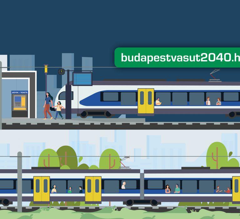 Mondjon véleményt Ön is a Budapesti Agglomerációs Vasúti Stratégiáról!
